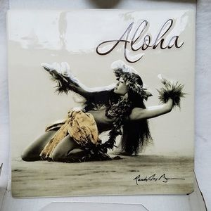 Island Heritage Hula Girl Wall Plaque New